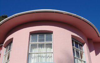 Curved Gutter clearance