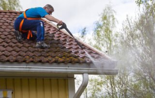 Roof and gutter clearance